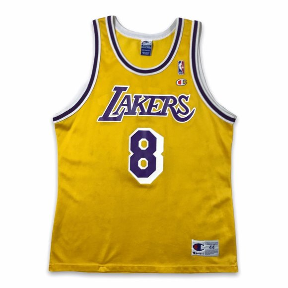 VTG 90s Champion La Lakers kobe Bryant #8 jersey